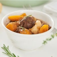 Beef and Guinness Irish Stew Made in the Crockpot