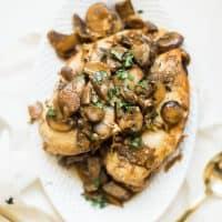 Instant Pot Chicken Marsala Dinner Recipe