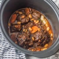Jamaican oxtail stew (with butter beans)
