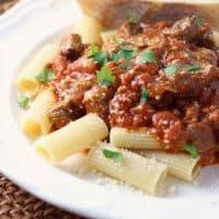 Slow Cooker Beef Italiano