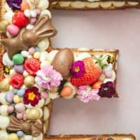 How To Make A Letter Cake: E is for Easter
