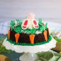 Easter Bunny Oreo Ice Cream Cake