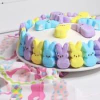 Peeps Tres Leche Cake
