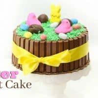 Easy Easter Kit Kat Cake Tutorial