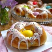 Individual Italian Easter Bread Rings