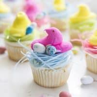Easter Peep Cupcakes