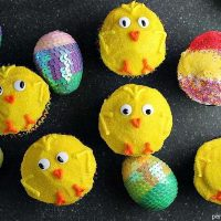 Spring Chick Cupcakes for Easter
