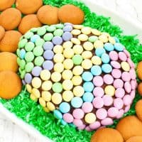 Chocolate Easter Cheese Ball
