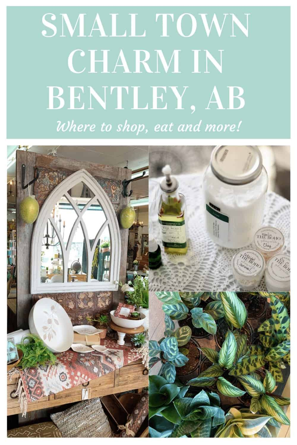 Scenes from Bentley Alberta shops