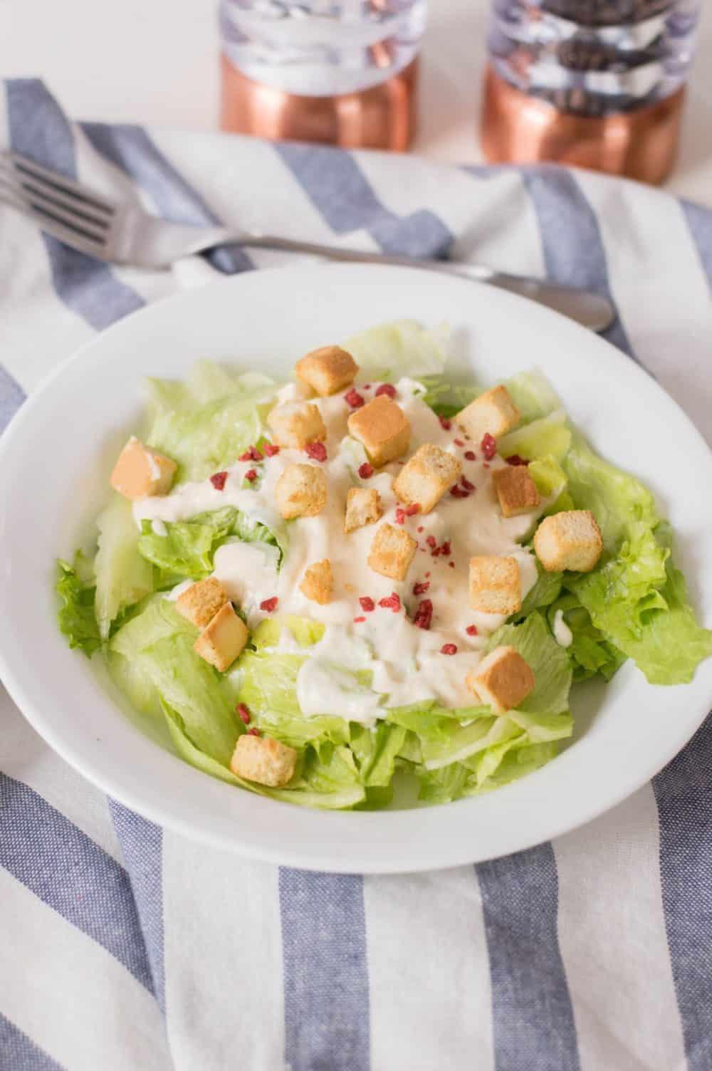 Garlicky Caesar Salad Dressing Recipe