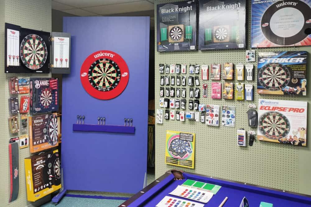 Benner's Billiards dart stock