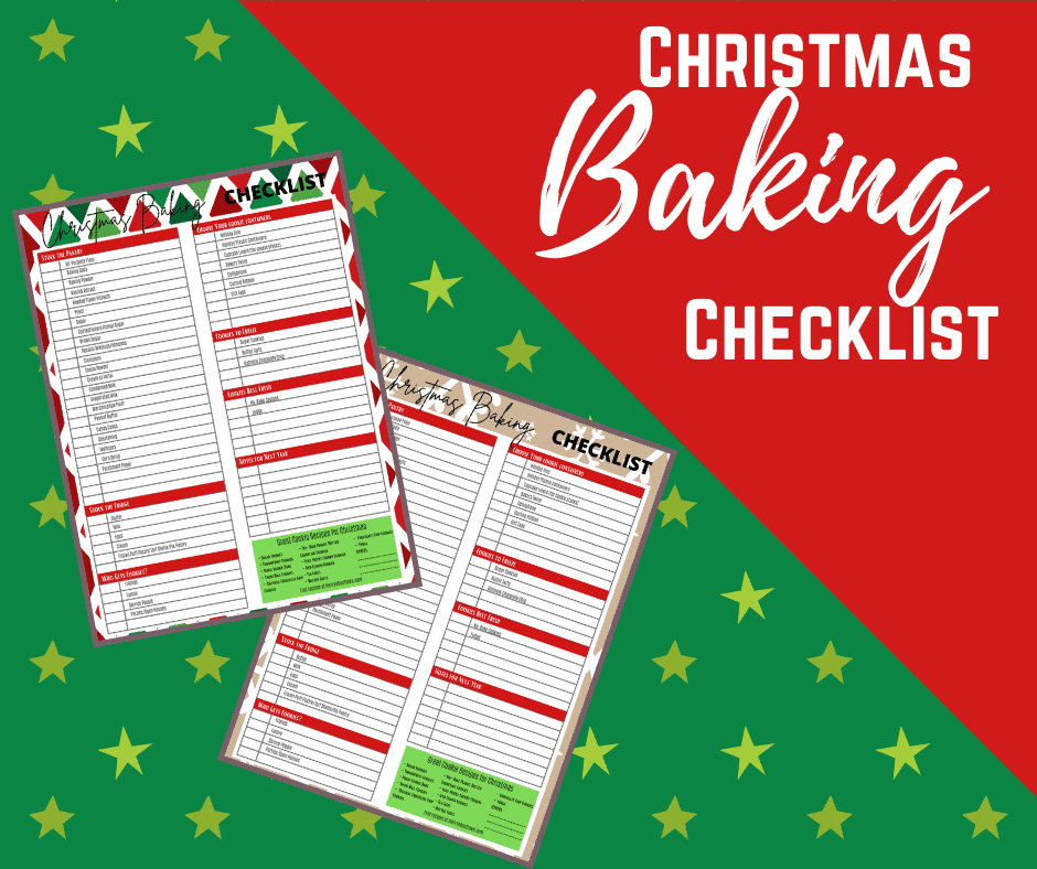 Christmas Baking Checklist