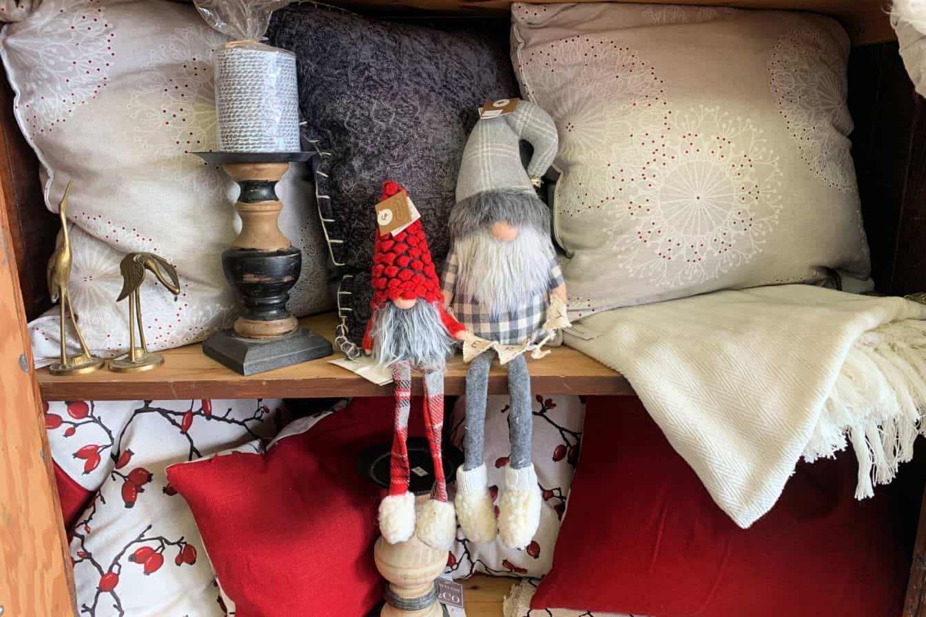 Christmas Gnomes at Merry's Mercantile