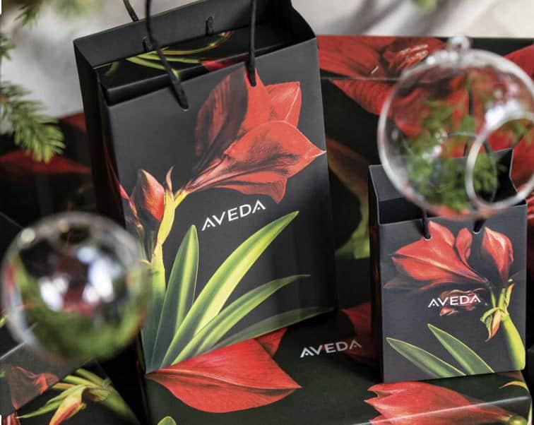 Aveda christmas packaging