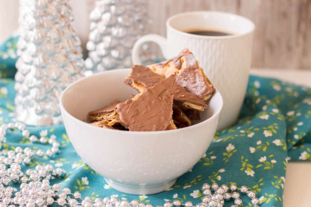 Easy Christmas Toffee Recipe